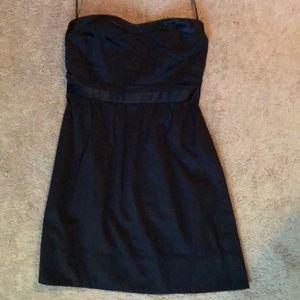 American Eagle Strapless Black Cocktail Dress